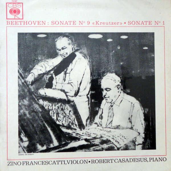 zino francescatti - Robert Casadesus Beethoven : Sonates piano & violon