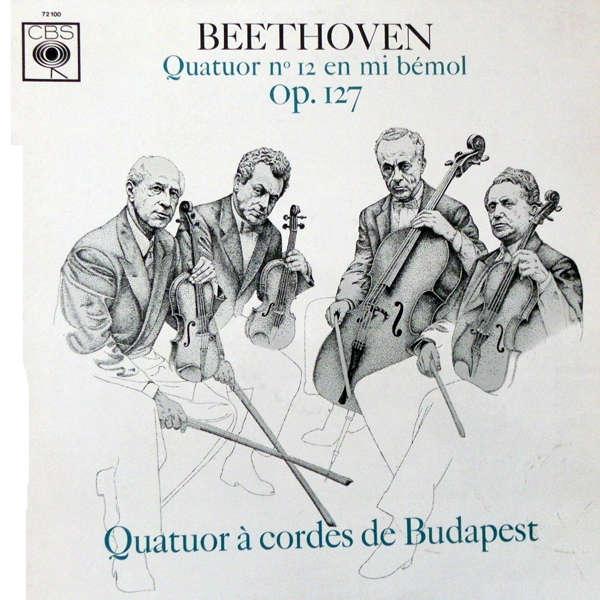 Quatuor de Budapest Beethoven : Quatuor