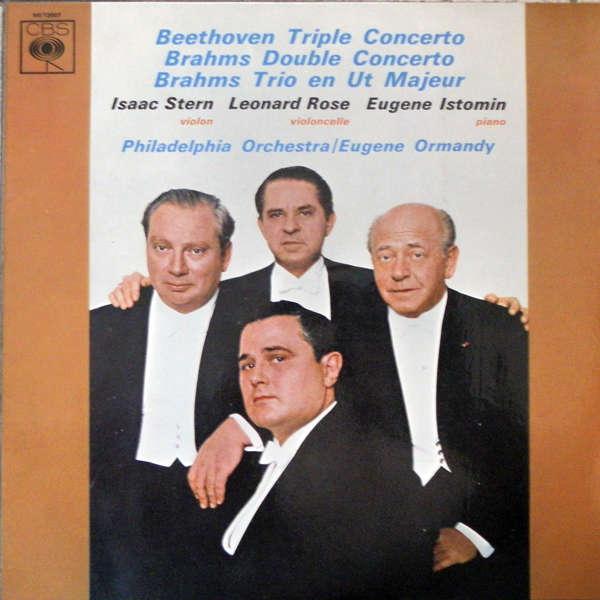 Trio Stern - Istomin - Rose Beethoven - Brahms