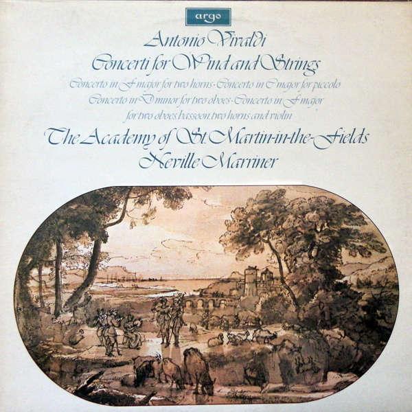 Neville Marriner Vivaldi : Concerti