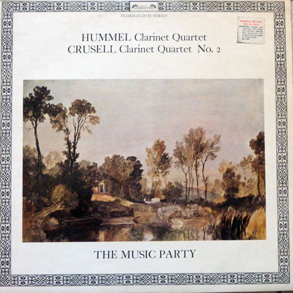 The music party Hummel - Crusell