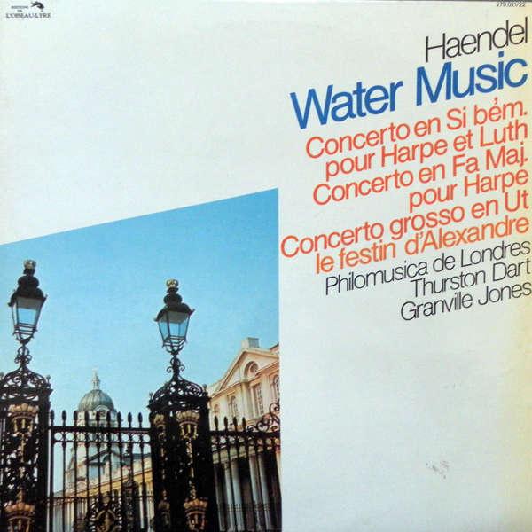 Thurson Dart Handel : Water music