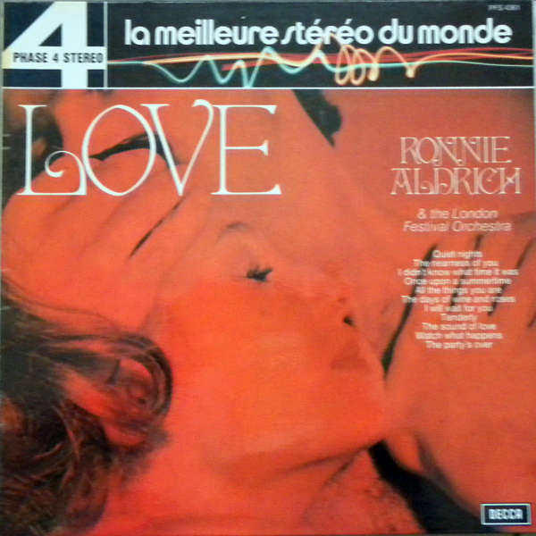 ronnie aldrich and his two pianos Love story