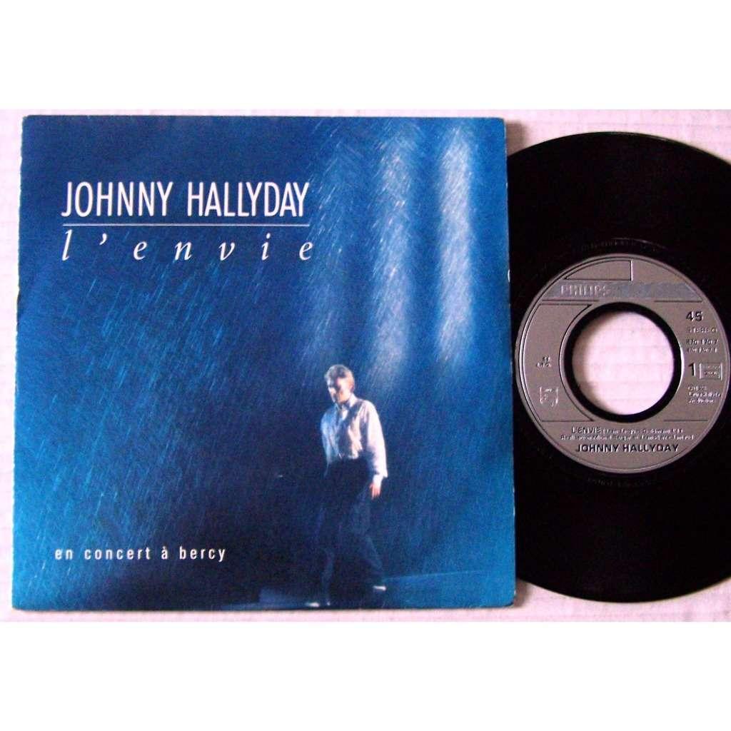 l 39 envie de johnny hallyday sp chez lapopmusic902000 ref 119011596. Black Bedroom Furniture Sets. Home Design Ideas