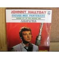 Johnny Hallyday . Excuse moi partenaire.( neuf sous blister original )