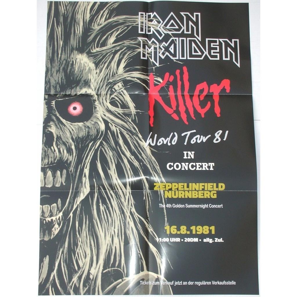 Iron Maiden Purgatory Warpig (lp) Ltd Edit With A Poster 50x75cm -E.U