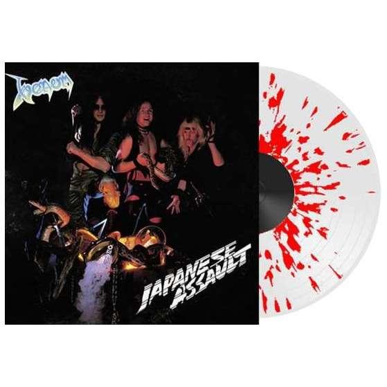 Venom Japanese Assault (lp) Ltd Edit Color Vinyl -U.K