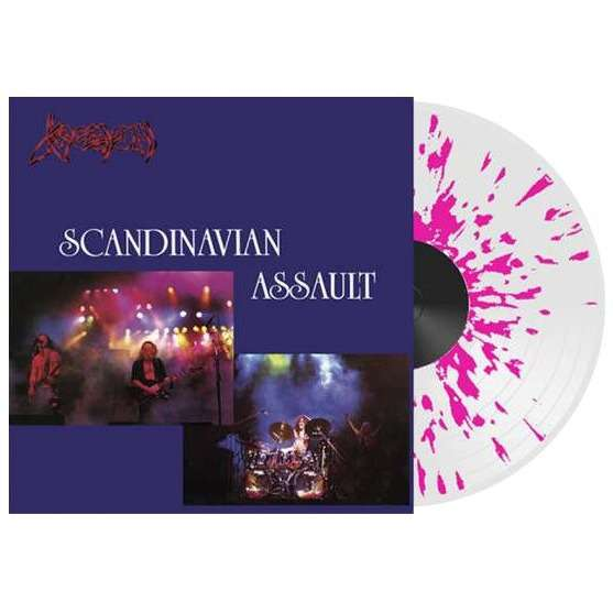 Venom Scandinavian Assault (lp) Ltd Edit Color Vinyl -U.K