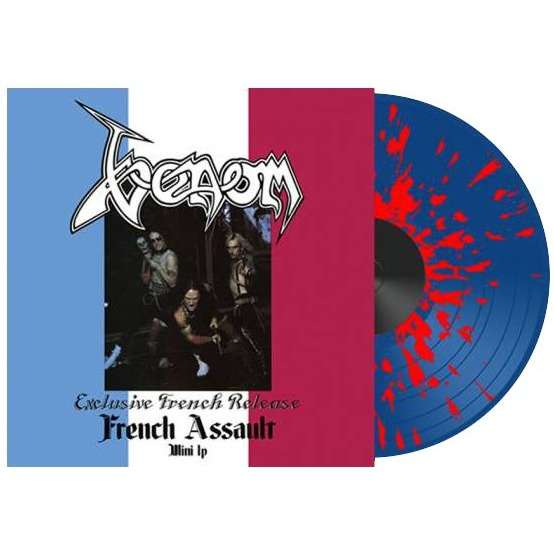 Venom French Assault (lp) Ltd Edit Color Vinyl -U.K