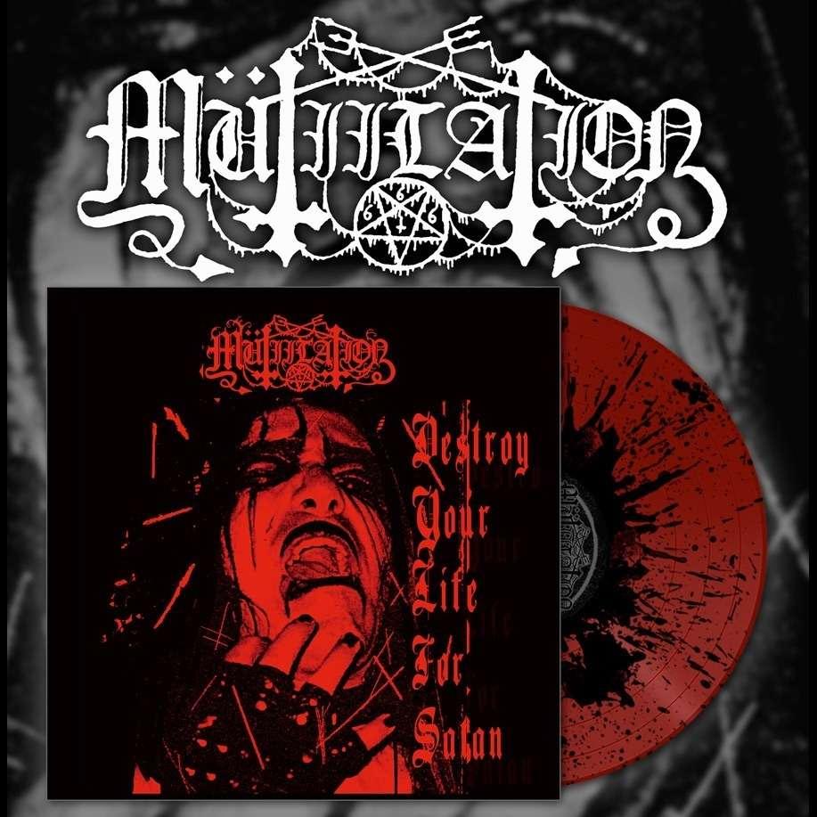 MUTIILATION Destroy your life for Satan. Splatter Vinyl