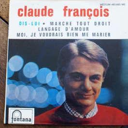 claude françois 1 EP vinyl 45 claude françois dis lui