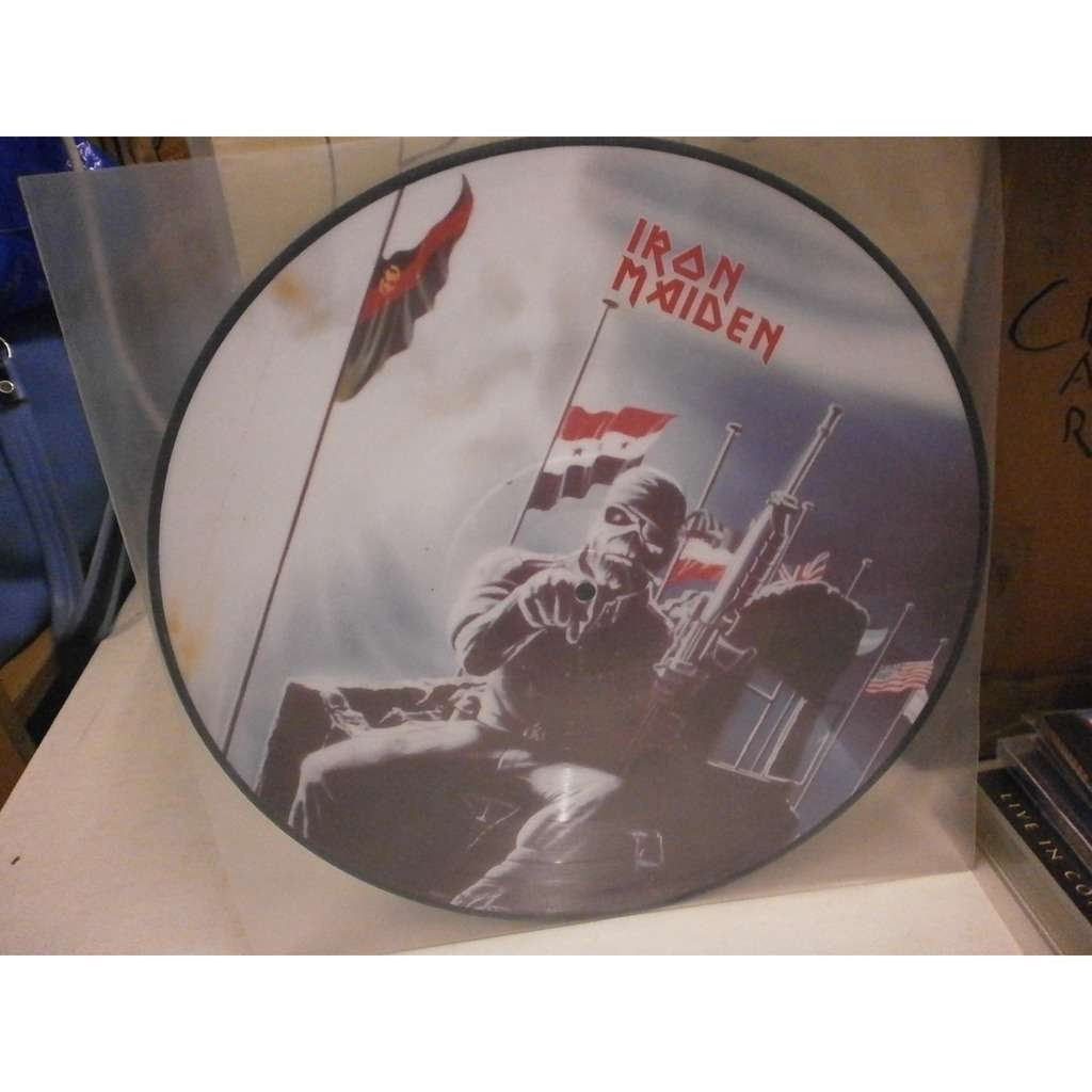 Iron Maiden 2 Minutes to Midnight/Aces High (UK Ltd 'The First Ten Years' promo 12ep Picture Disc)