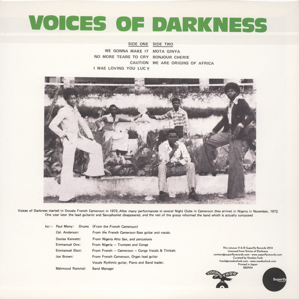 Voices Of Darkness Voices Of Darkness