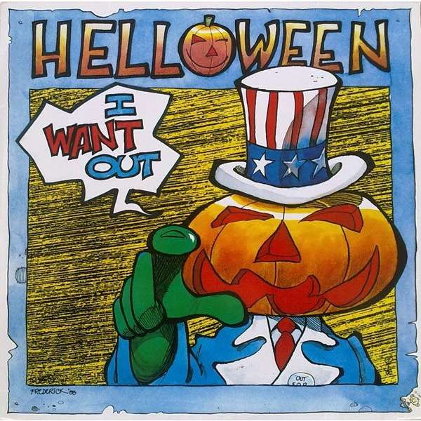 HELLOWEEN - I WANT OUT (GER. PRESSING 3 TRK 12 MAXI-SINGLE)