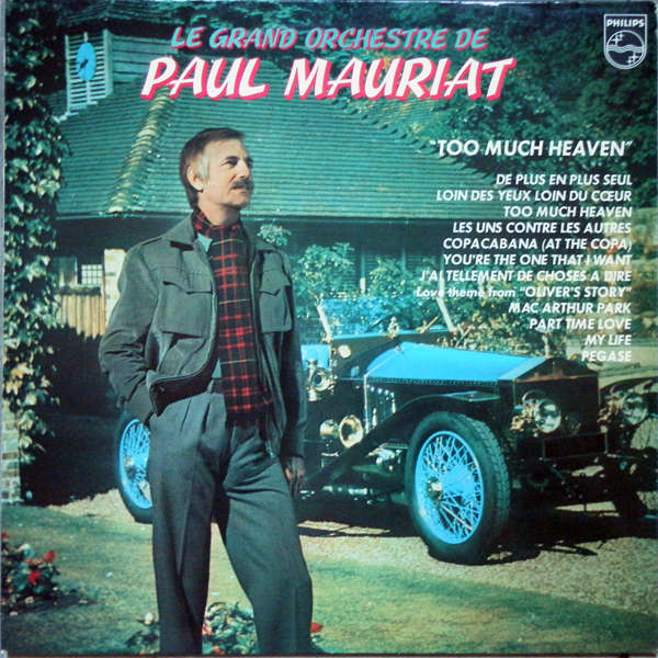 paul mauriat and his orchestra Too much heaven