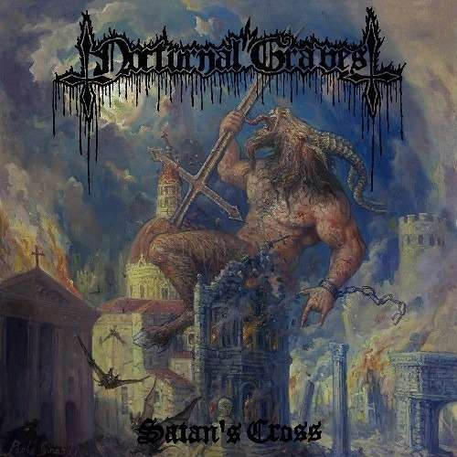 NOCTURNAL GRAVES Satan's Cross