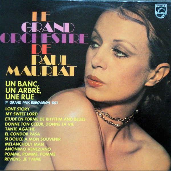 paul mauriat and his orchestra Un banc, un arbre, une rue