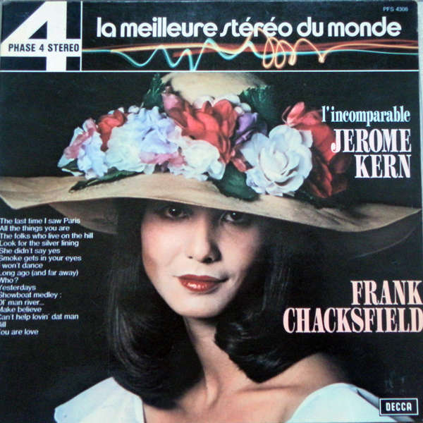 the frank chacksfield orchestra L'incomparable Jerome kern