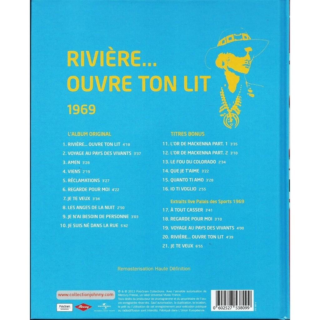 Johnny HALLYDAY 1969 Rivière... ouvre ton lit - la collection officielle johnny hallyday 50 ans de carrière