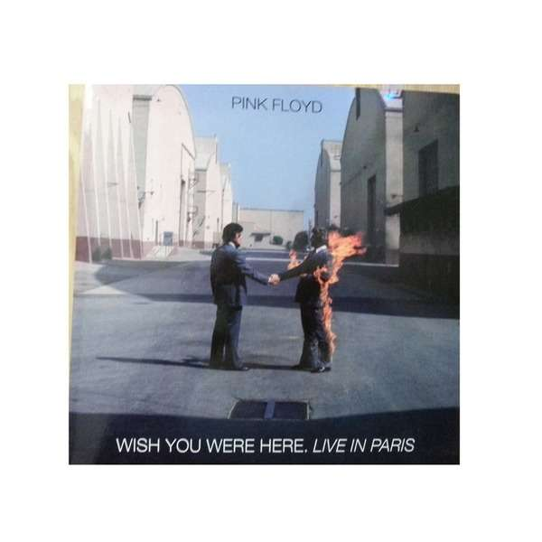 Pink Floyd Wish You Were Here. Live In Paris White Vinyl