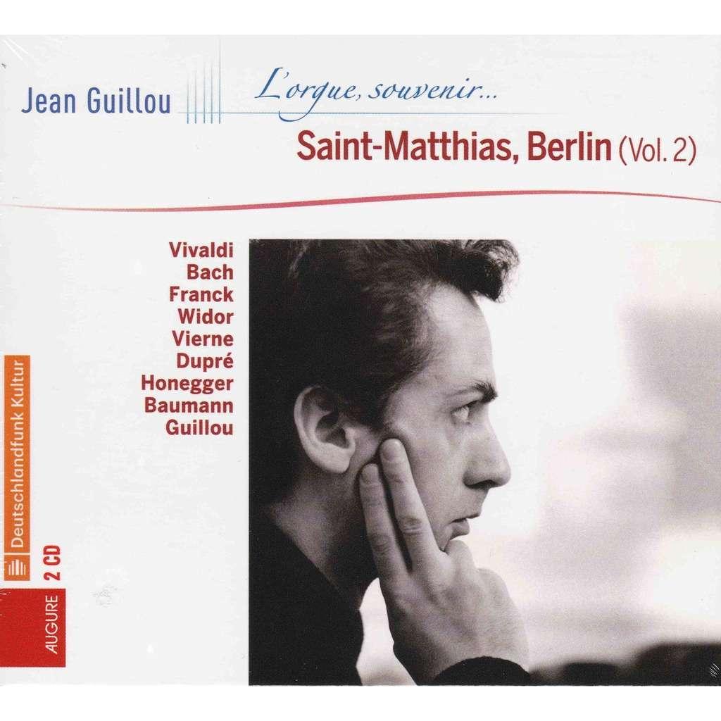 Jean Guillou JEAN GUILLOU - à Saint-Matthias, Berlin - vol. 2