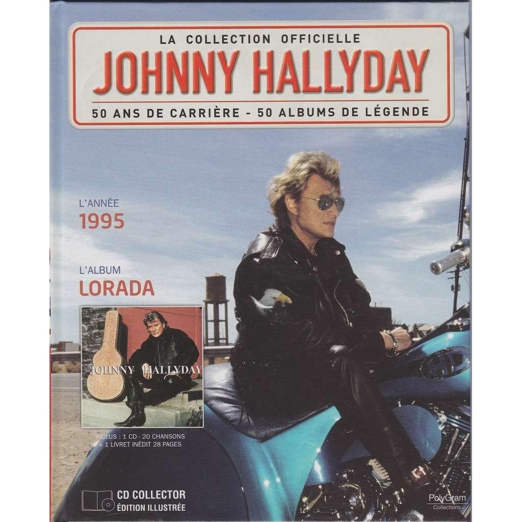 lorada la collection officielle by johnny hallyday cd. Black Bedroom Furniture Sets. Home Design Ideas