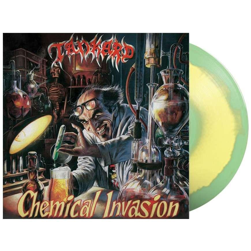 Tankard Chemical Invasion (lp) Ltd Edit Colored Vinyl -E.U