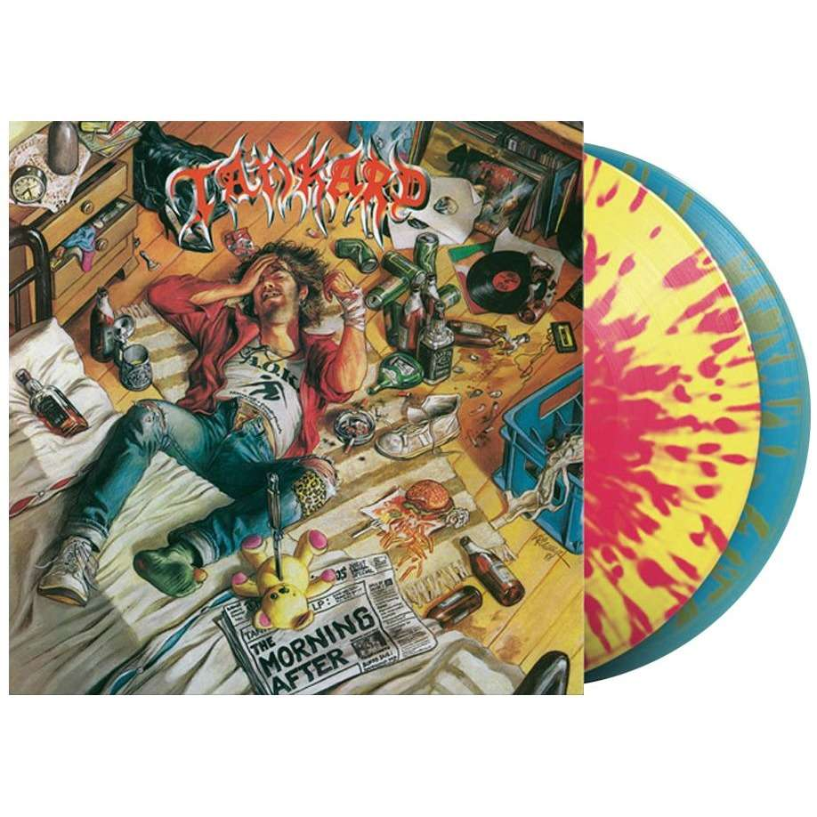 Tankard The Morning After (2xlp) Ltd Edit Colored Vinyl -E.U