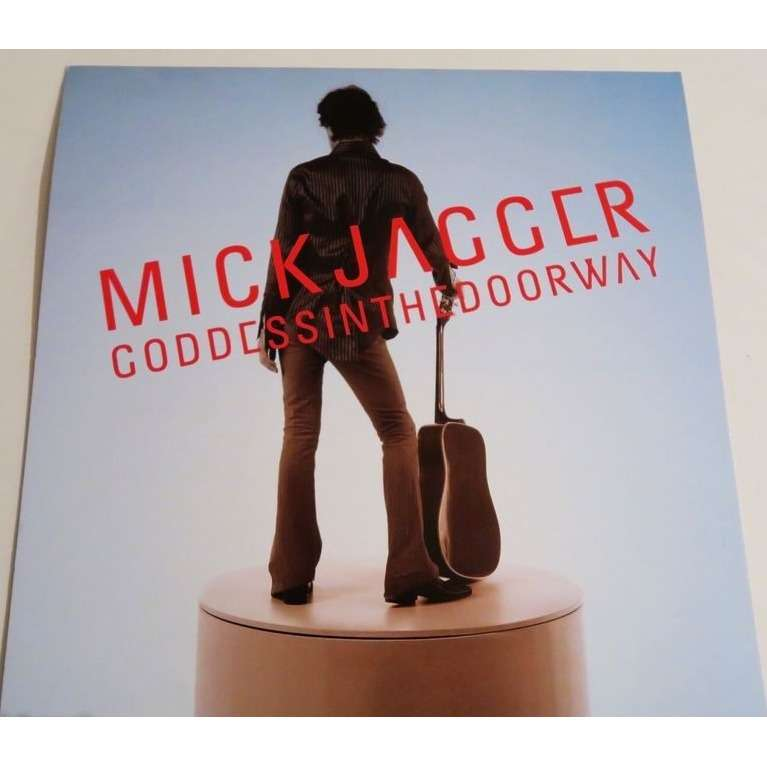 Mick jagger DOSSIER PRESSE PROMO + CD Interview - Goddess In The Doorway