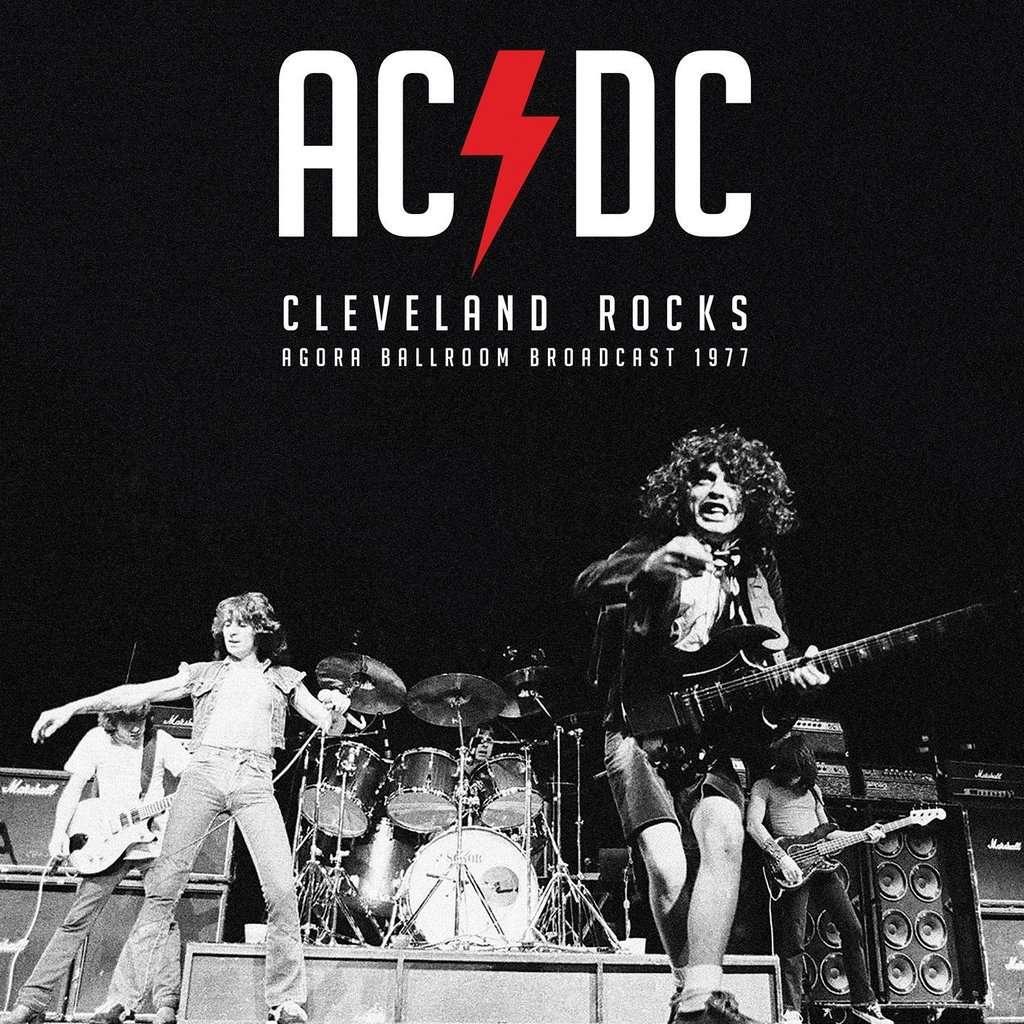 AC/DC Cleveland Rocks - Agora Ballroom Broadcast 1977 (lp) Ltd Edit Colored Vinyl -U.K