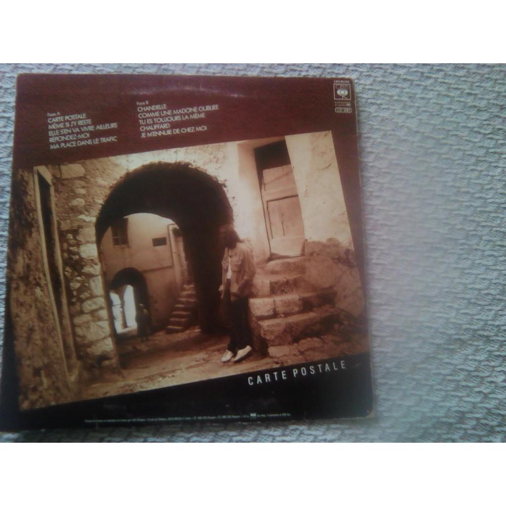 Francis cabrel - carte postale by Francis Cabrel - Carte Postale, LP with soul13 - Ref:119021841