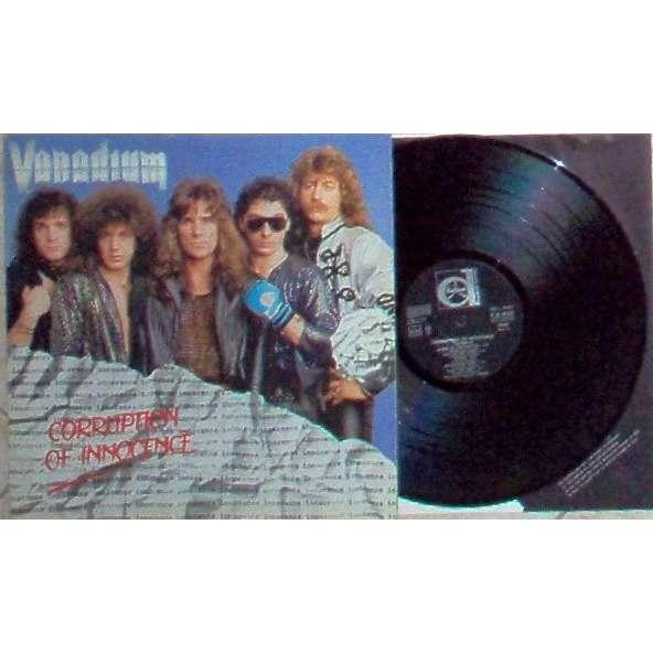 Vanadium Corruption Of Innocence (Italian 1987 original 9-trk lp on Durium lbl full ps+inner slv)