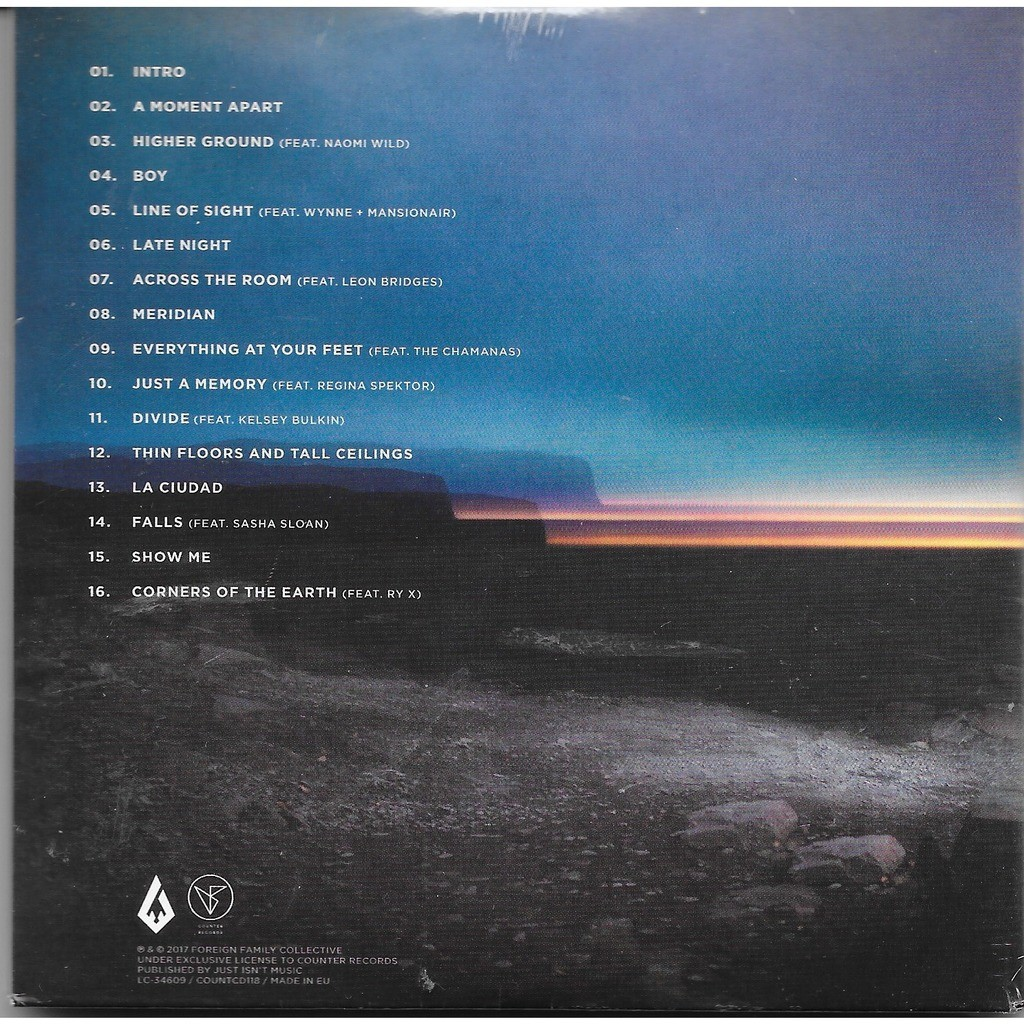 A Moment Apart By Odesza Cd With Louviers Ref 119024087