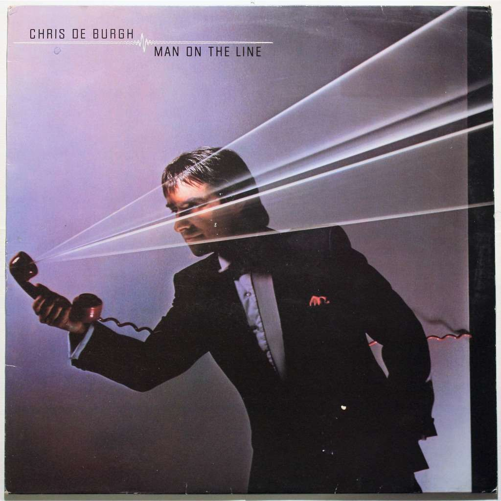 Man On The Line By Chris De Burgh Lp With Cruisexruffalo