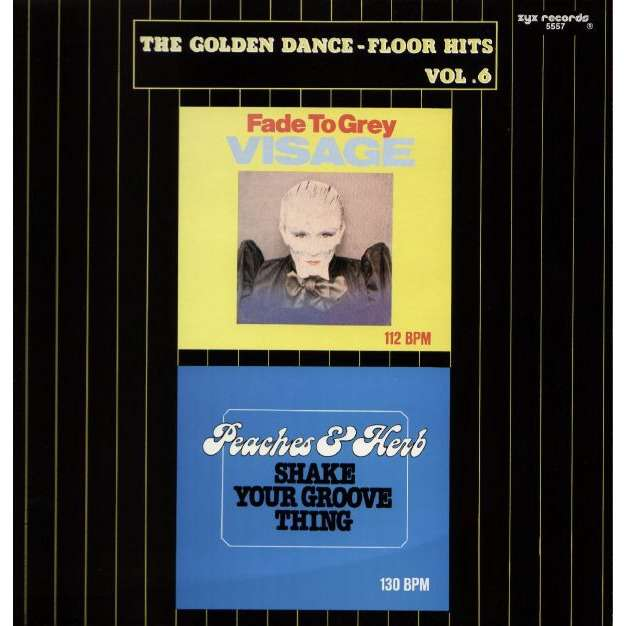 VISAGE / PEACHES & HERB fade to grey / shake your groove thing