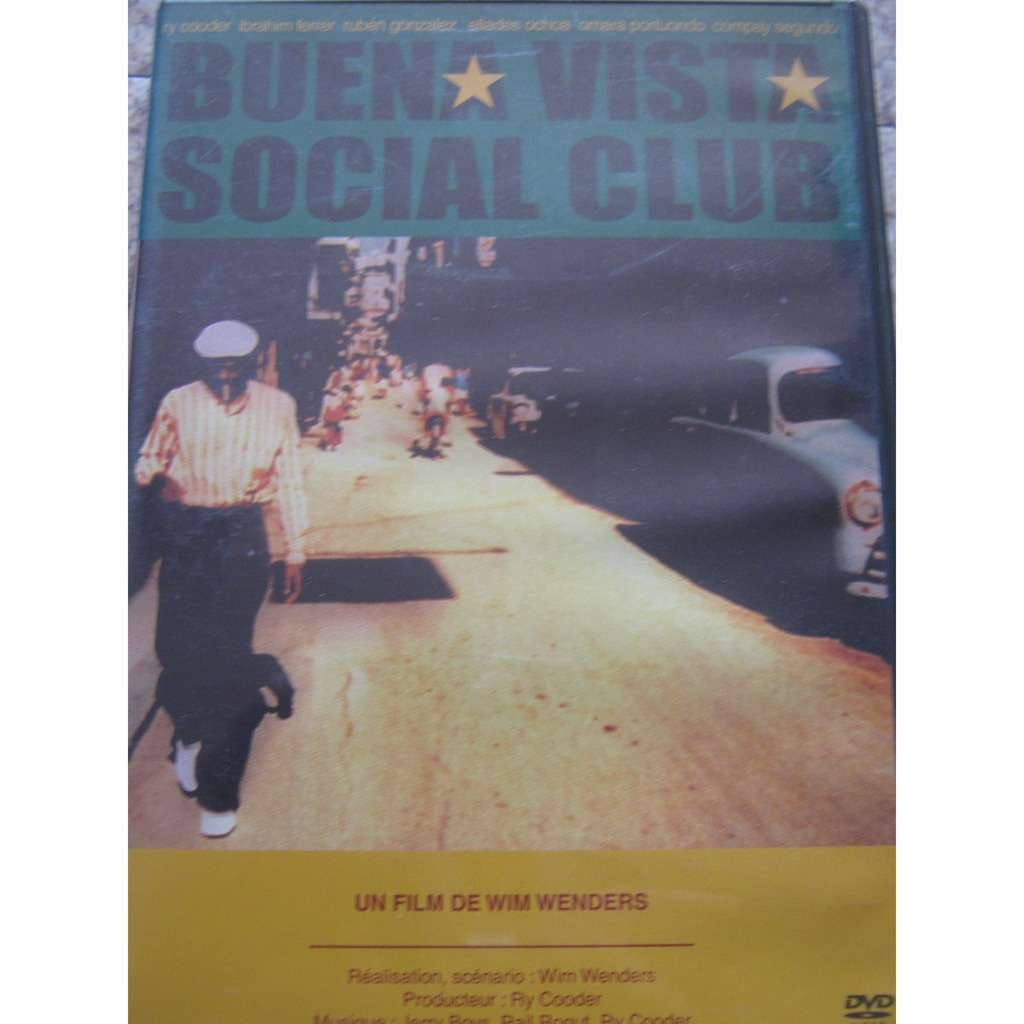 Buena Vista Social Club By Buena Vista Social Club Dvd With Michel69800 Ref 119025707