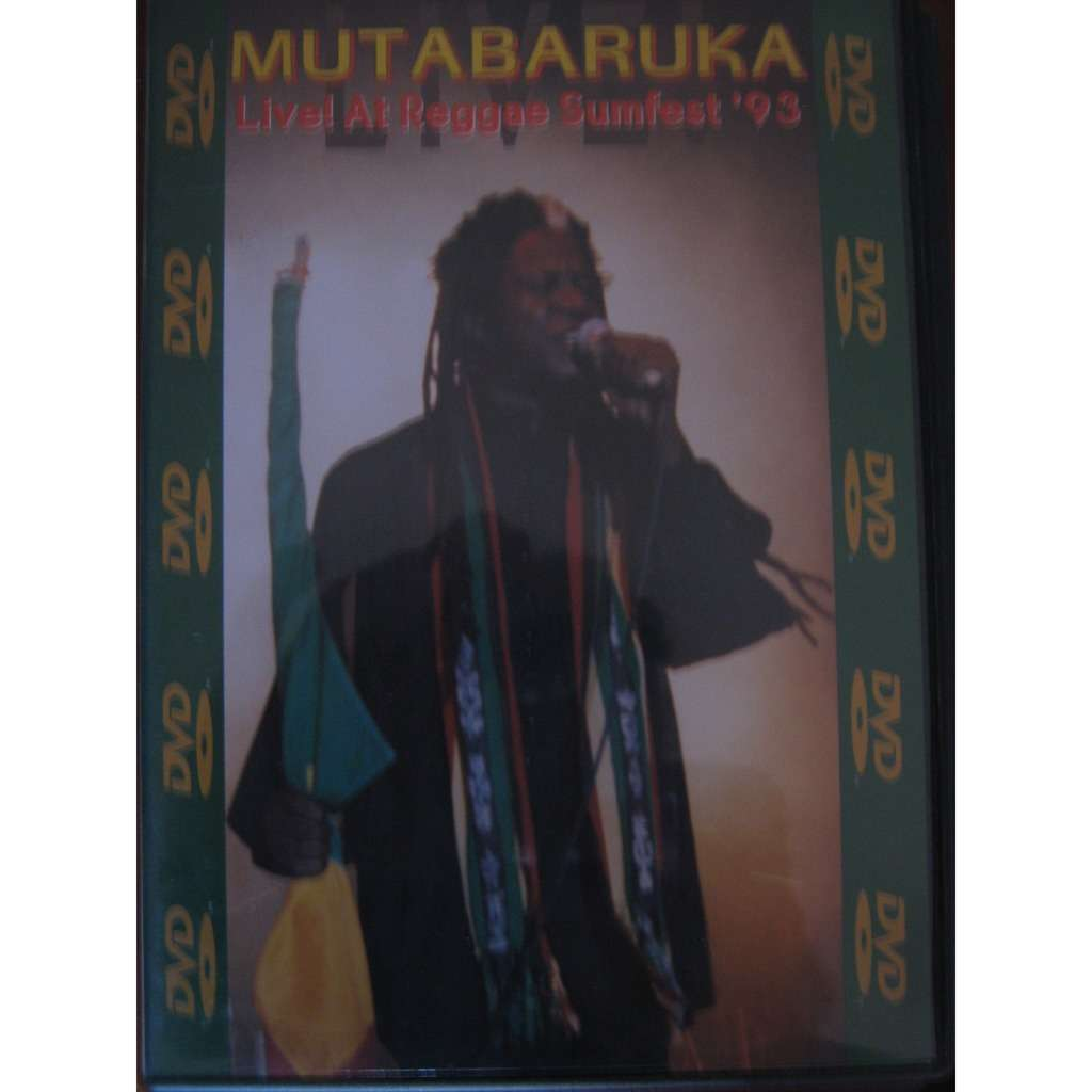 mutabaruka live at reggae sumfest'93