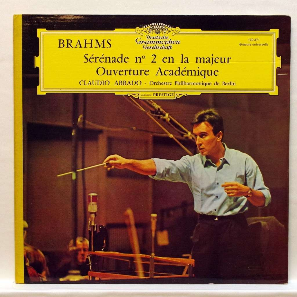 Brahms Serenade No 2 In A Major Academic Overture By