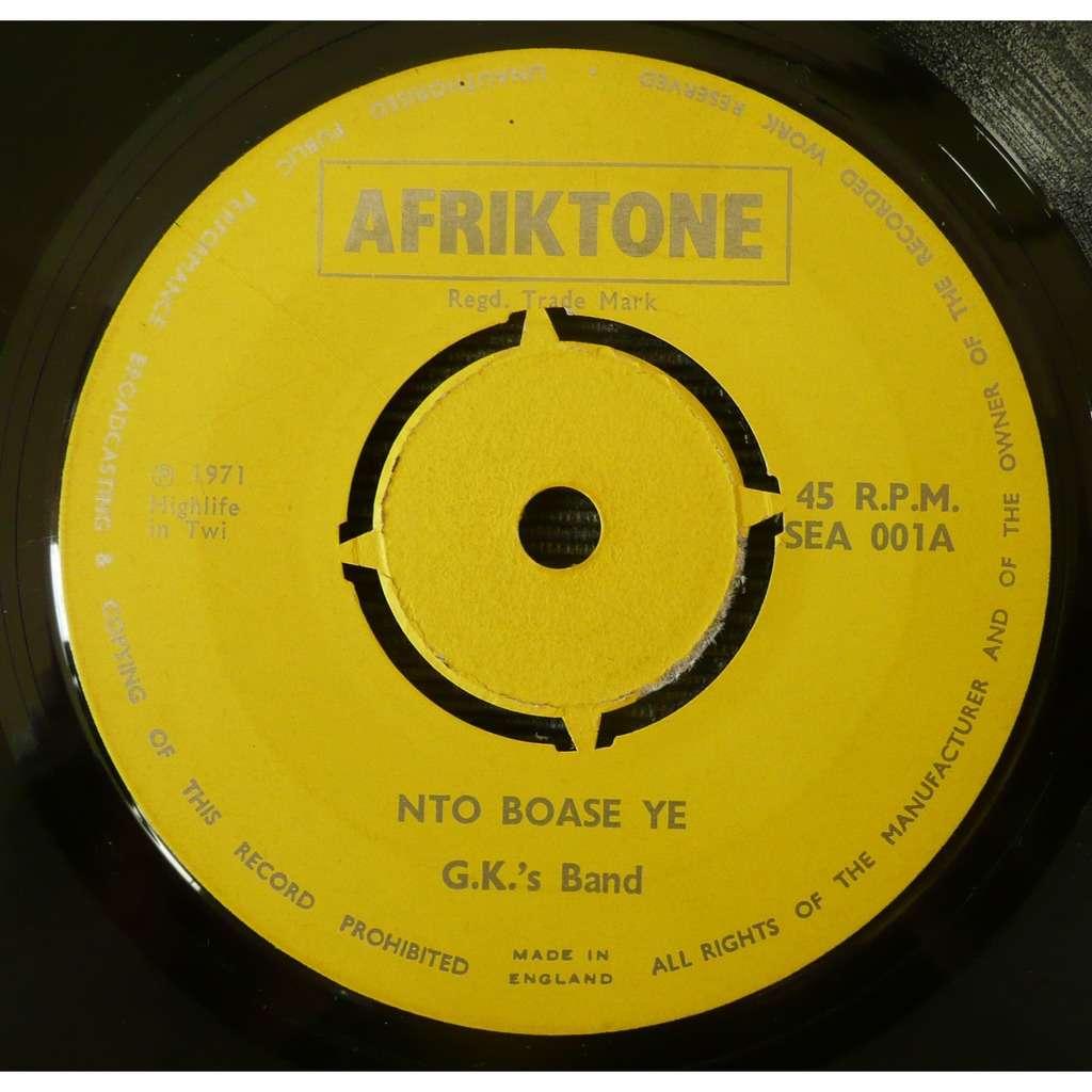 G.K.'s Band Nto Boase Ye / Baako Ye Ya