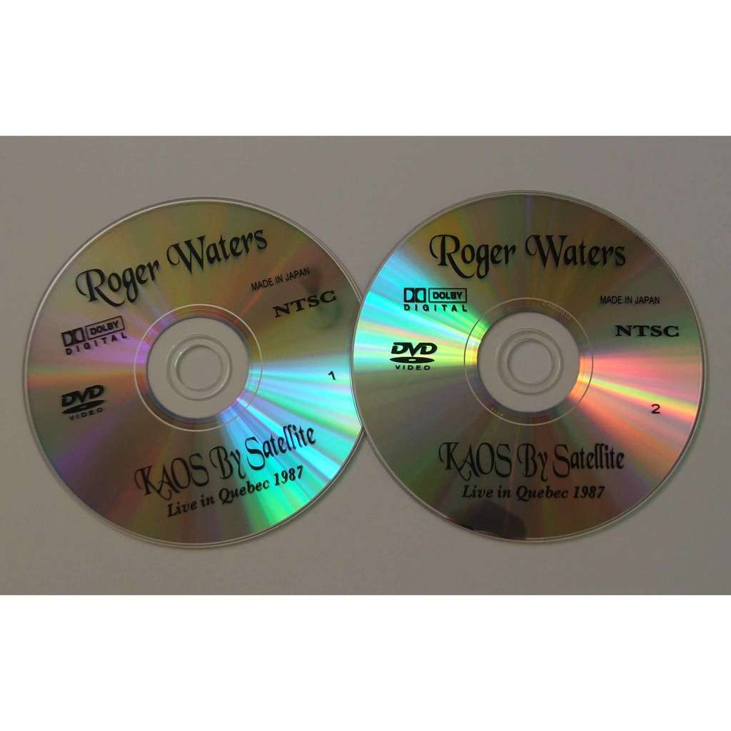 Pink Floyd Roger Waters - KAOS BY SATELLITE
