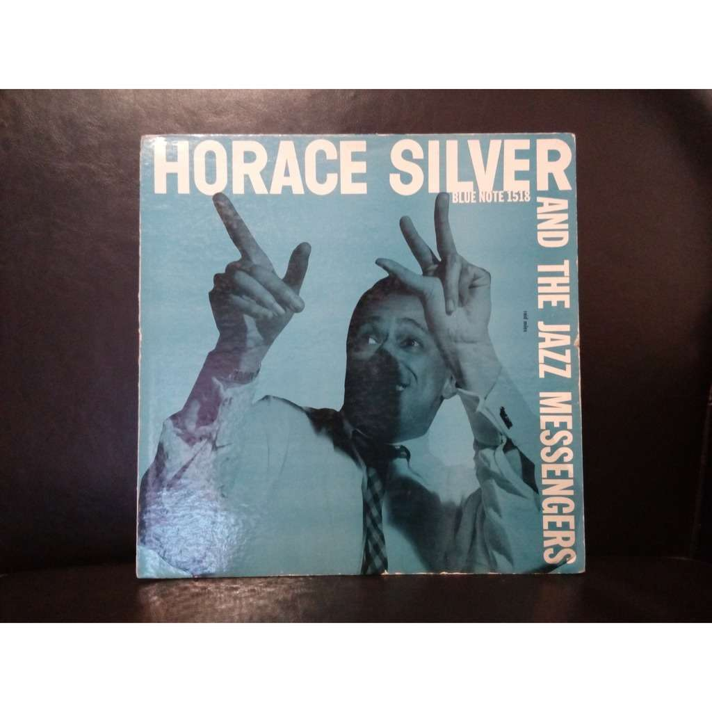 HORACE SILVER & THE JAZZ MESSENGERS original blue note!!! BLP 1518