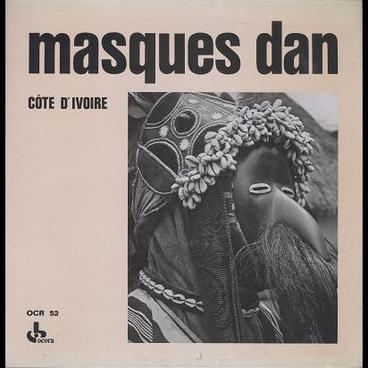 Masques Dan Cote d'Ivoire