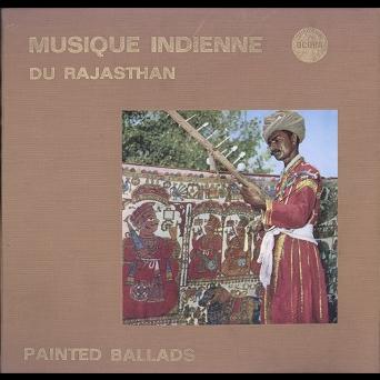 rajasthan, musique indienne painted ballads