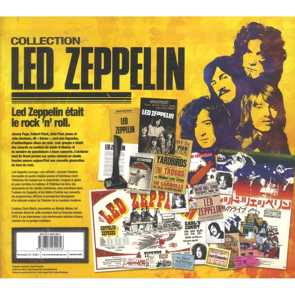 led zeppelin LED ZEPELLIN COLLECTION