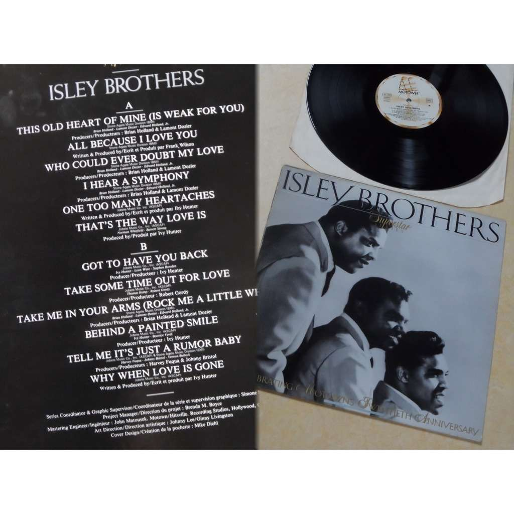 Isley Brothers Isley Brothers - Superstar Series