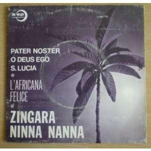 L'africana Felice Carlo Savina Orchestra Da Camera Zingara - Ninna Nanna - Pater Noster - O Deus Ego - S. Lucia