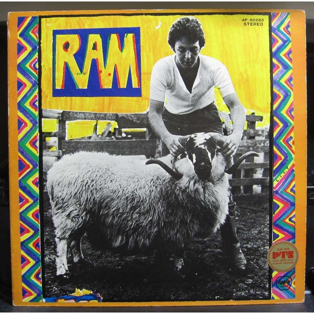 Ram By Paul Mccartney LP Gatefold With Jappress