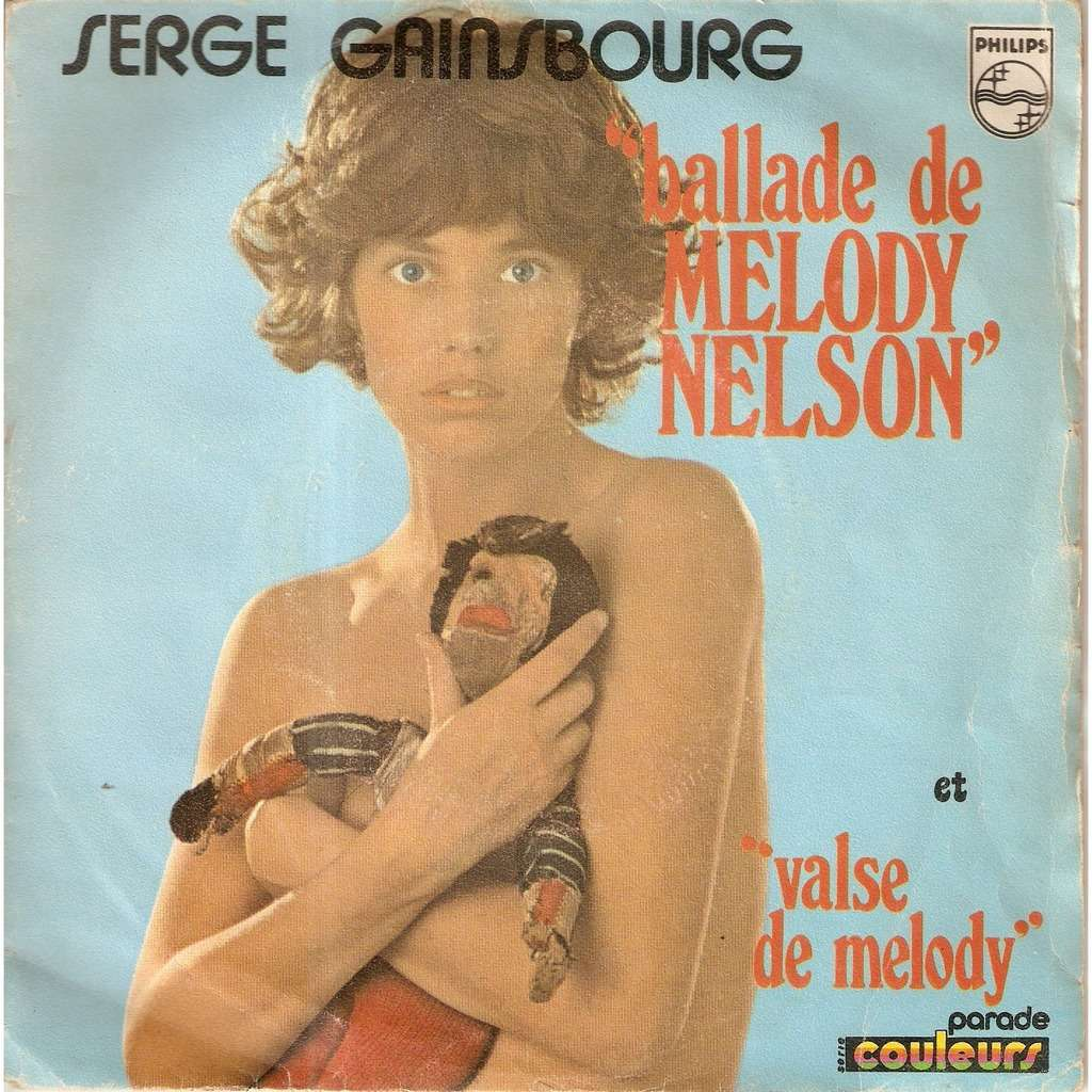 GAINSBOURG Serge BALLADE DE MELODY NELSON