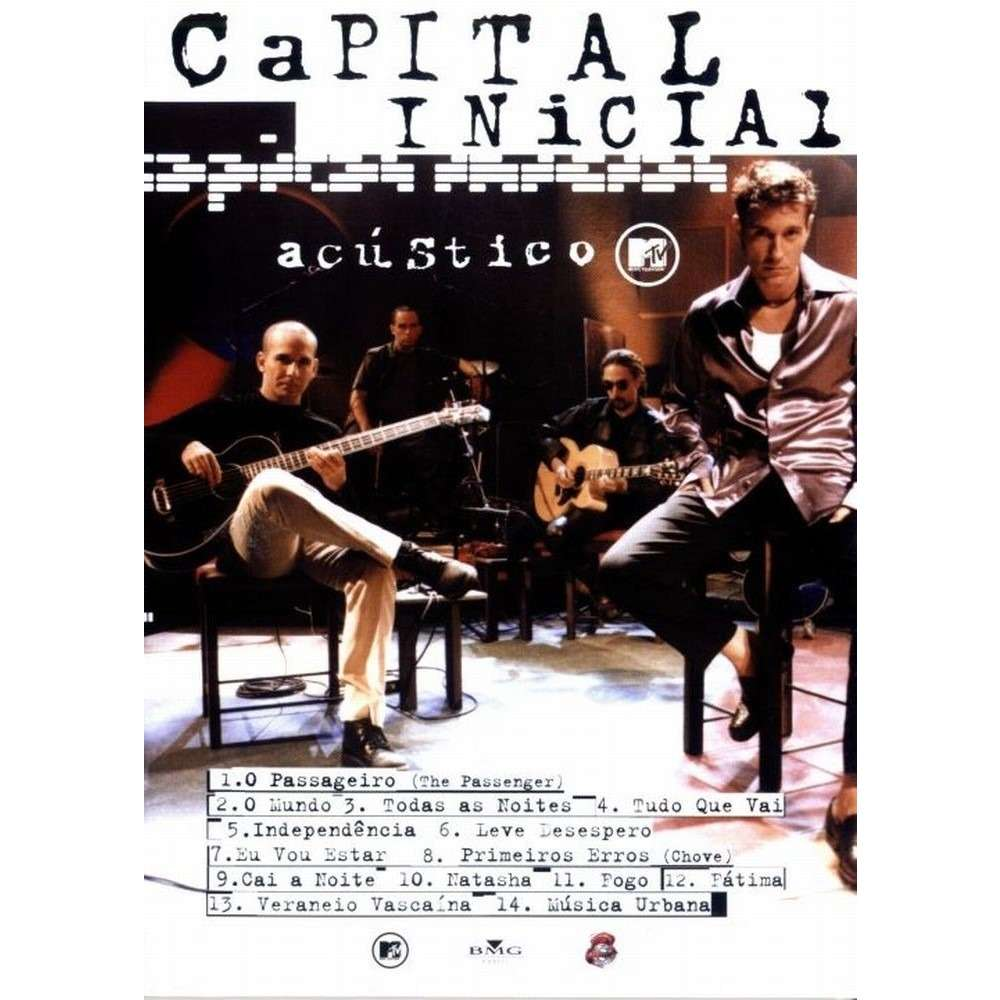 dvd do capital inicial acustico mtv