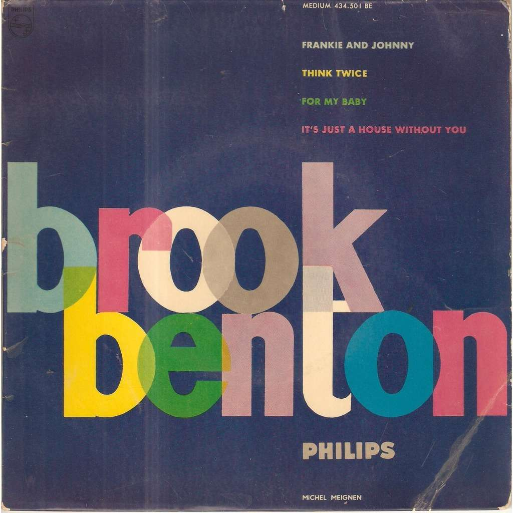 BENTON Brook FRANKIE & JOHNNY
